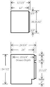 Standard Kitchen Cabinet Sizes In Mm Mamita Info