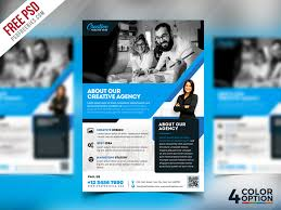 Free Flier Template Free Corporate Flyer Psd Template Bundle Psdfreebies Com