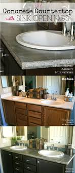 Thinset Concrete Countertops The Ultimate Weekender Diy Concrete Countertops Diy Concrete