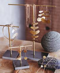 wooden jewelry on necklace display stands uk 11 amazing chic jewelry supplies brass plated classic stand