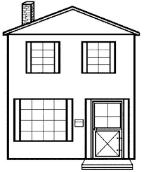 House Coloring Pages Coloringsuitecom House Coloring Pages White