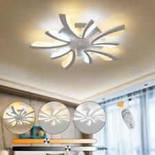 Die richtige wohnzimmerlampe zu finden, hängt also davon als allgemeinbeleuchtung dient eine zum stil des wohnzimmers passende deckenlampe. 35w Deckenleuchte Led Deckenlampe Dimmbar Lampe Fernbedienung Acryl Wohnzimmer Ebay