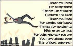Thank You Quotes For Boss Magnificent Thank You Cards Lovely Card Messages For Boss On Day Quotes Msg