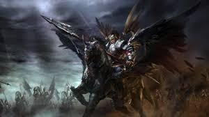 winged hussar xin zhao splash art league of legends artwork wallpaper lol 2