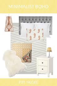 Bedroom Mood Board Fifi Mcgee My Minimalist Boho Bedroom Mood Board John Lewis