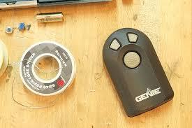 genie garage door opener remoteGenie Garage Door Opener Remote Battery I74 All About Coolest