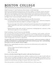 Best Photos of College Appeal Letter Sample - College Academic ... College Financial Aid Appeal Letter Sample