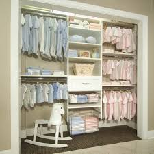 closet ideas for kids. Baby Girl Nursery Kids Shabby-chic Style With Neutral Closet Ideas For F