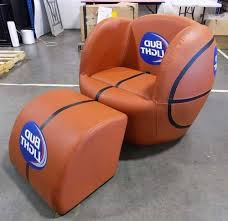 stunning bud light basketball chair with ottoman and cooler bud furniture about amazing bud light chair pictures