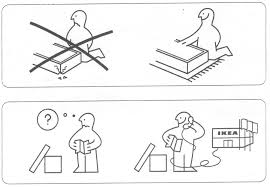 Ikea Instruction Manuals Design Context Design For Print Instruction Manuals Research