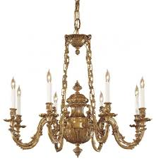 minka 8 light chandelieer in traditional solid cast brass williamsburg style traditional chandeliers by we got lites