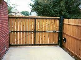 fence gate. nature no sag privacy fence gate and sliding hardware pinterest fences