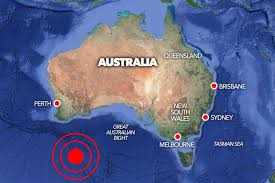 Waves reaching up to a level of 1 metre (3.3 feet) above the normal tide level are possible for some coasts of. Massive 6 1 Magnitude Earthquake Rocks Southern Australia As Experts Issue Tsunami Warning