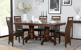 Black Wood Dining Room Table
