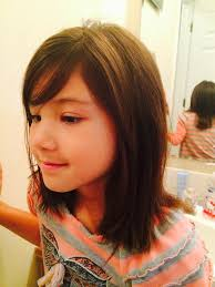 Medium Length Little Girl Hair Cut Hair Cuts Girl Haircuts