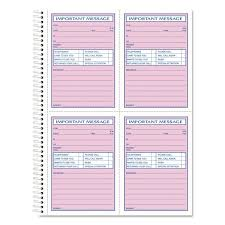 telephone message book tops telephone message book fax mobile section 5 1 2 x 3 3 16 two