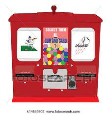 Vending Machine Clip Art Beauteous Clipart Of Baseball Card Vending Machine K48 Search Clip Art