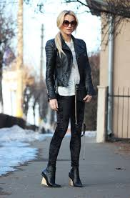 leather jackets outfit ideas 2019