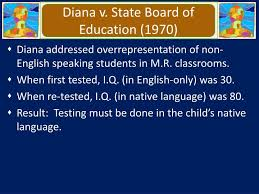 Diana V State Board Of Education Ppt Introduction Powerpoint Presentation Id 4494308