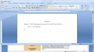 Apa Reference Format For An Internet Citation
