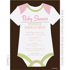 Onesie Baby Shower Invitations Onesie Baby Shower Invitation Kateogroup