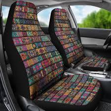 Bohemian Pattern Awesome Bohemian Pattern Hippie Car Seat Covers YesWeVibe