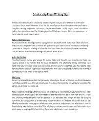 College Scholarship Essay Essays For Scholarships Examples Examples Of College Scholarship