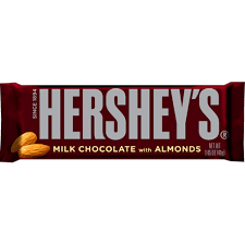 hershey almond candy bars. Perfect Almond Hersheyu0027s Milk Chocolate Whole Almond Candy Bar Inside Hershey Almond Bars O