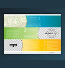 Tri Fold Map Vector Images Over 530