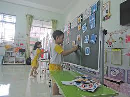 Trẻ học về an toàn giao thông - Báo Cần Thơ Online