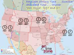 Time Zone Chart Time Zones Map Time Zone Map North