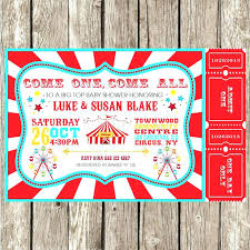 Free Birthday Invitations Templates For Kids Mesmerizing Circus Themed Invitations Orgullolgbt