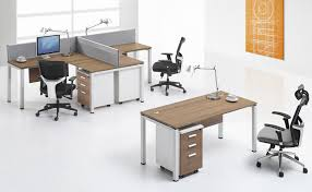 small office furniture. CF L Shape Workstation 2 Seater Desk For Small Office Furniture Area Use