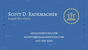 Placeit Business Card Maker For Legal Services