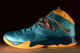 lebron zoom soldier 7. nike lebron soldier 7 \u2013 turbo green atomic mango nightshade 4 lebron zoom