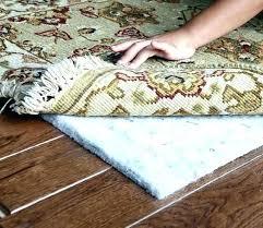 best rug pad for hardwood floors floor great 8x10