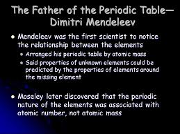 The Periodic Table You need to memorize the following!!!! - ppt ...