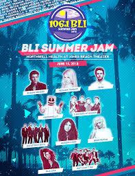 Bli Summer Jam June 15 2018
