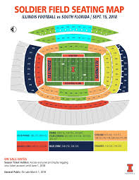 Illinois Seating Chart Football Illinois Athletics Tickets For Illinois 2018 Game At