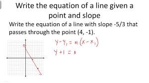 point slope form of linear equations algebra ck 12 foundation