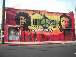 communal  on wall mural artist los angeles with street art manifests itself on the walls of los angeles daily trojan