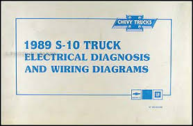 chevy blazer wiring diagram wiring diagrams 1989 chevy s 10 pickup blazer wiring diagram manual original