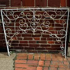 wrought iron trellis panels antique wrought iron trellis panel wrought iron garden trellis panels