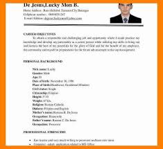 ojt resume. Example Of Ojt Resumeadorable Sample Resume Bsit Student With
