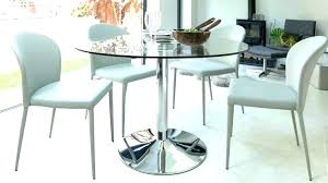 round glass kitchen table and chairs set sets