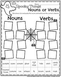 461 FREE ESL Halloween worksheets in addition Halloween Nouns   Worksheets  Halloween and School additionally  further Best 25  Color words kindergarten ideas on Pinterest   Color additionally 214 FREE Halloween Worksheets also  additionally 315 best HALLOWEEN images on Pinterest   Halloween activities besides  together with October First Grade Worksheets   First grade worksheets  First also Find the Nouns   Grammar worksheets  Prepositional phrases and likewise Halloween   Squarehead Teachers   Page 3. on halloween noun worksheets for kindergarten