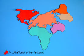 29 Comprehensive Printable World Continents
