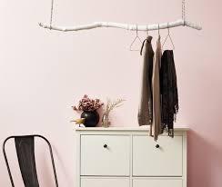 Hanging Coat Rack Cool DIY Hanging Coat Rack