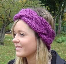 Ear Warmer Headband Knitting Pattern New Decoration