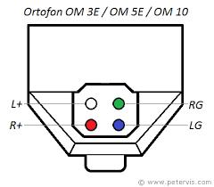 ortofon om 3e om 5e om 10 wiring diagram
